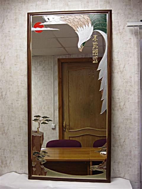 Зеркало на заказ изготовление зеркал любых размеров и форм -.